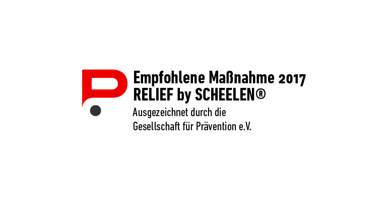 "Stresspräventions-Tool RELIEF: ""Empfohlene Maßnahme 2017"""